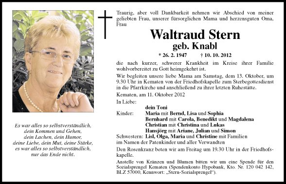 Waltraud Stern