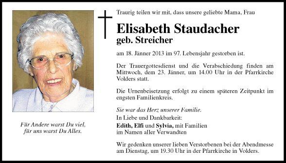 Elisabeth Staudacher