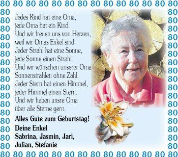 Glückwünsche 80 Geburtstag Oma Wünsche Zum Geburtstag
