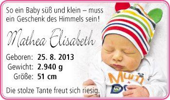 Ein baby süß und klein – muss ein geschenk des himmels