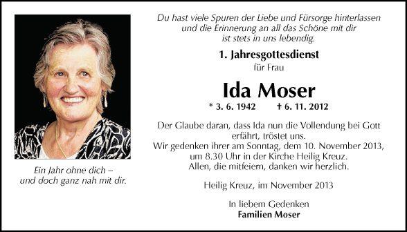 Ida Moser