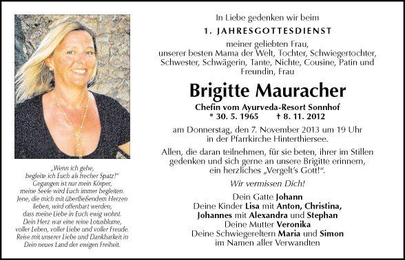 Brigitte Mauracher