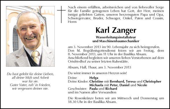 Karl Zanger