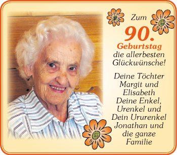 Glückwünsche Zum 90 Geburtstag Oma