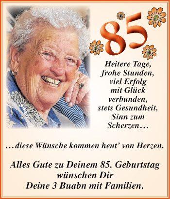 Herzlichkeiten tiroler tageszeitung online - Geschenke zum 85 geburtstag ...