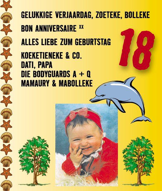 Glückwünsche zum 18 geburtstag von der tante
