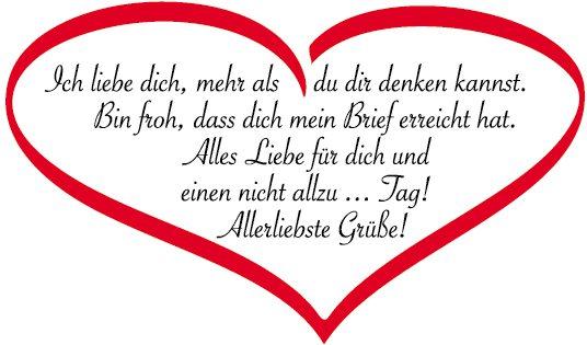 Brief Für Liebe : Herzlichkeiten tiroler tageszeitung online