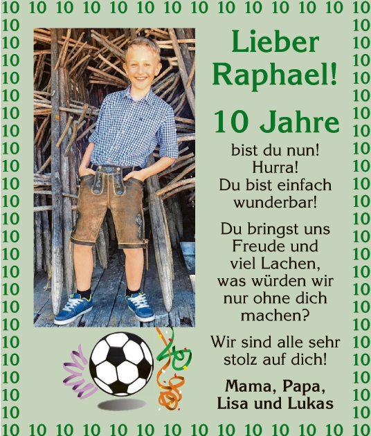 Lieber Raphael