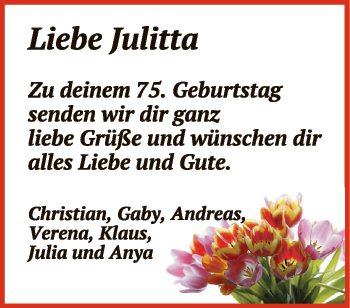 Liebe Julietta