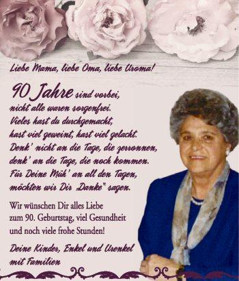 Liebe Oma