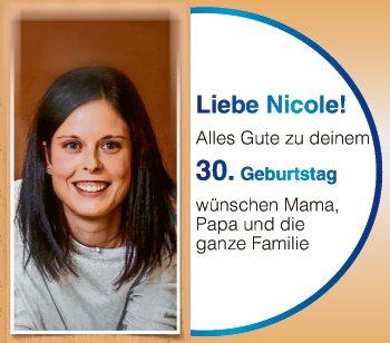 Liebe Nicole