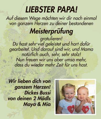 Liebster Papa