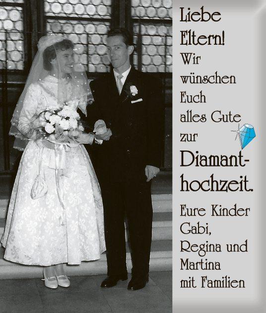 Diamanthochzeit