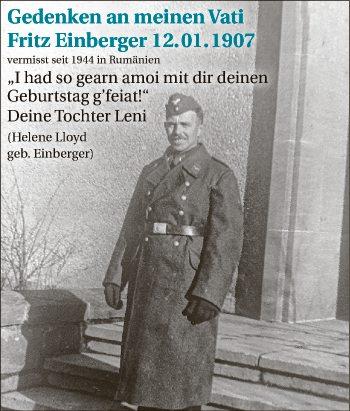 Fritz Einberger