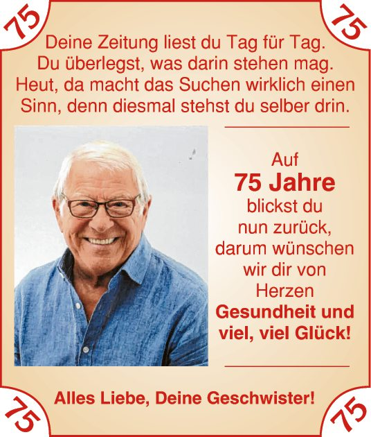 75 Jahre
