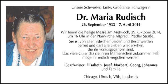 Maria Rudisch
