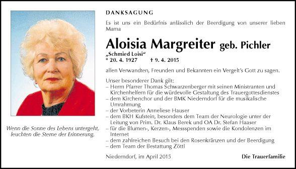 Aloisia Margreiter