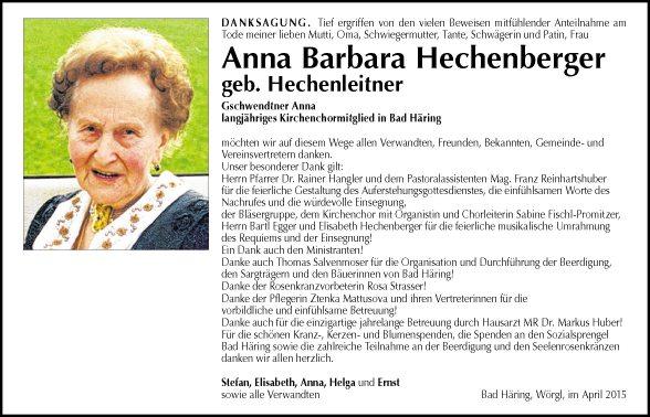 Anna Hechenberger