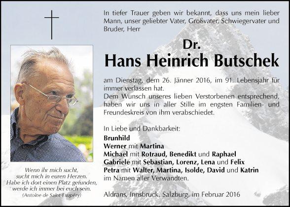 Hans Butschek