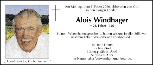Alois Windhager
