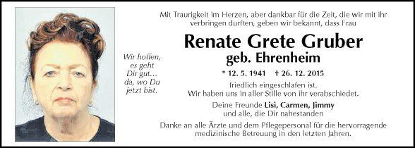 Renate Grete Gruber