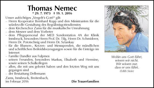 Thomas Nemec