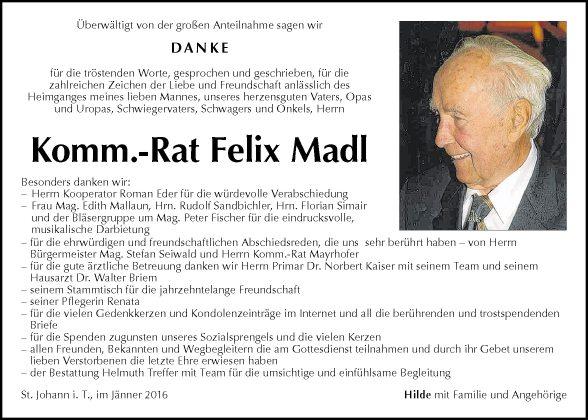 Felix Madl