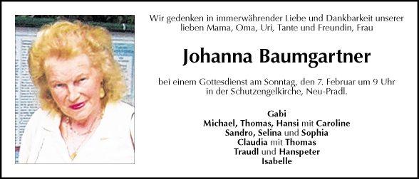Johanna Baumgartner
