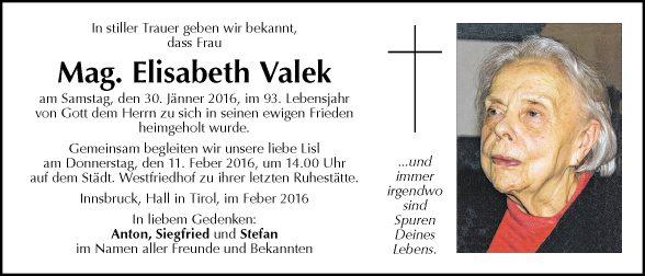 Mag. Elisabeth Valek