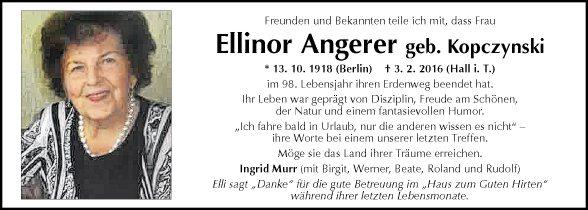 Ellinor Angerer