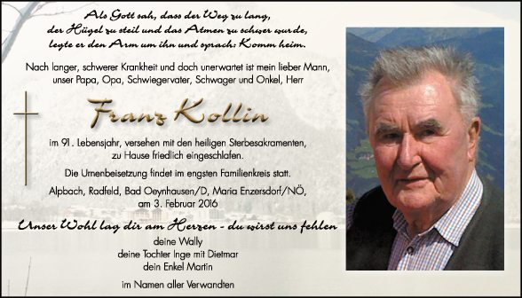 Franz Kollin
