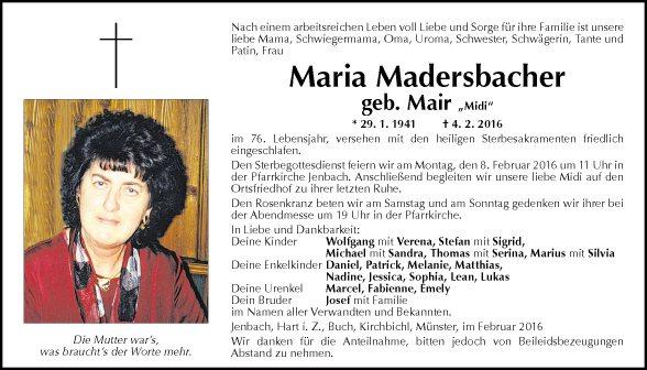 Maria Madersbacher