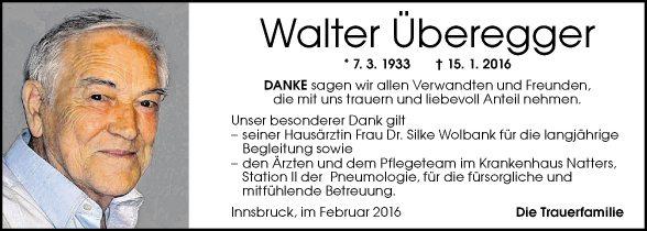 Walter Überegger