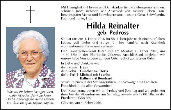 Hilda Reinalter