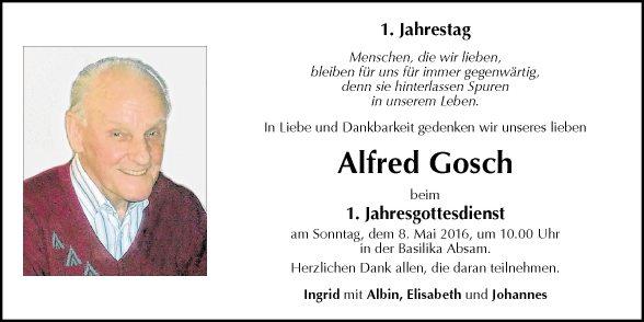 Alfred Gosch