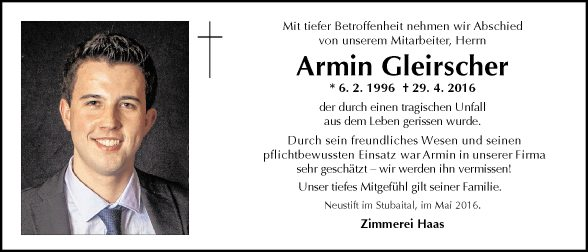 Armin Gleirscher