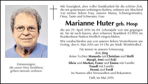 Marianne Huter