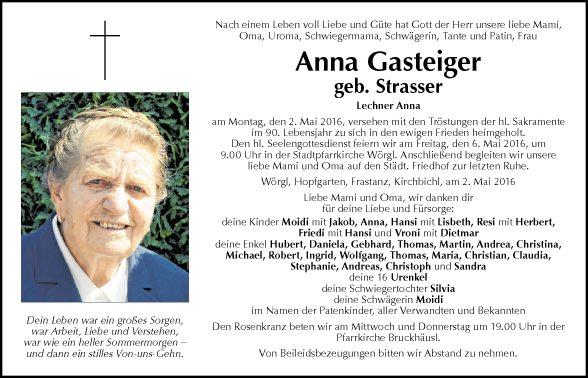 Anna Gasteiger