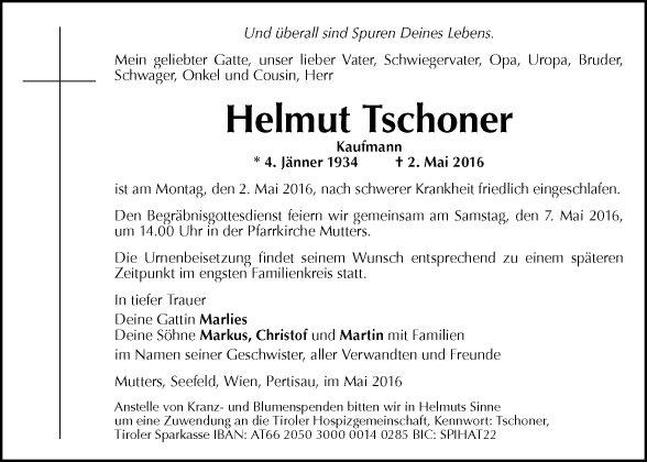 Helmut Tschoner