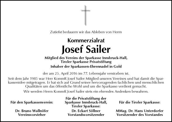 Josef Sailer