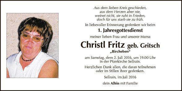 Christine Fritz