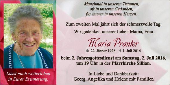 Maria Pranter