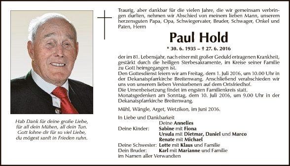 Paul Hold