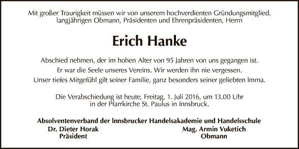 Erich Hanke