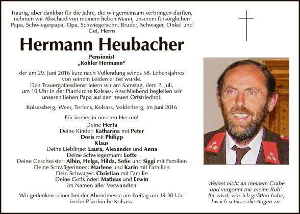 Hermann Heubacher
