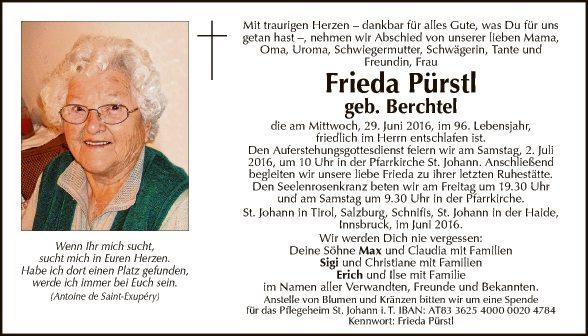 Frieda Pürstl