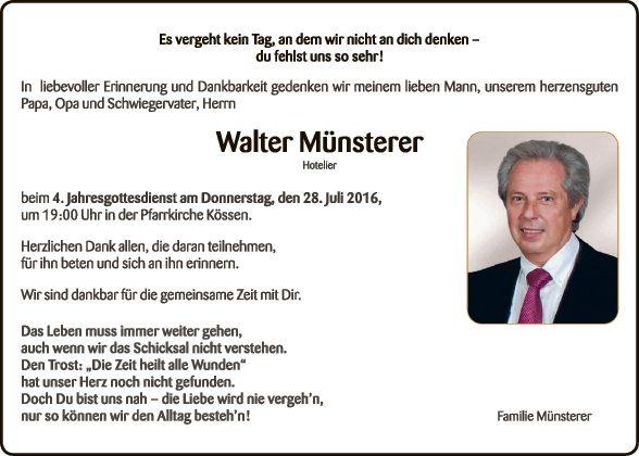 Walter Münsterer