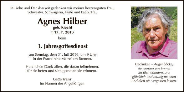 Agnes Hilber