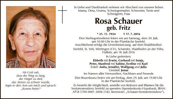 Rosa Schauer