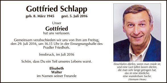 Gottfried Schlapp